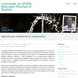 Approche par compétences et compensation – L'Université, les STAPS, l'Education Physique et Sportive