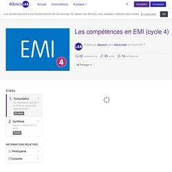 éduscolab - Les compétences en EMI (cycle 4) - Consultation - Distinguer la citation du plagiat.