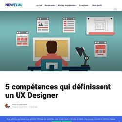 5 compétences qui définissent un UX designer