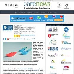 RAISE et Altediamettent leurs compétences RH à disposition des jeunes start-up - Carenews
