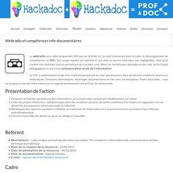 Webradio et compétences info-documentaires – DocTICE