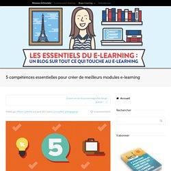 5 compétences essentielles pour créer de meilleurs modules e-learning