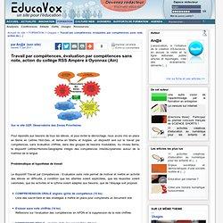 Travail par compétences, évaluation par compétences sans note, action du collège RSS Ampère à Oyonnax (Ain)