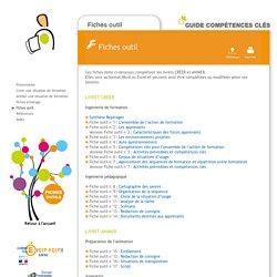 Guide Compétences clés - Fiches outils