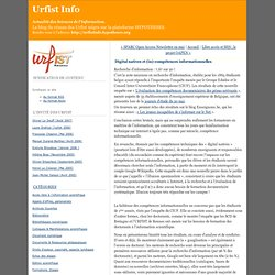 Digital natives et (in)-compétences informationnelles