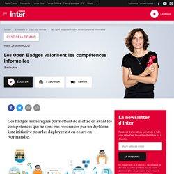 Les Open Badges valorisent les compétences informelles