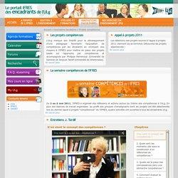 - Projets compétences - Innovations facultaires - Portail IFRES des encadrants de l'Université de Liège