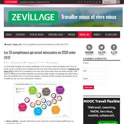 Les 10 compétences qui seront nécessaires en 2020 selon l'IFTF