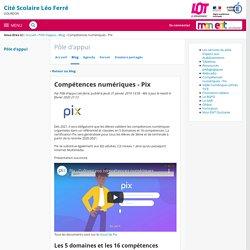 Compétences numériques - Pix - Pôle d'appui - Cité Scolaire Léo Ferré