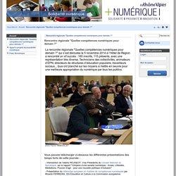 """Rencontre régionale """"Quelles compétences numériques pour demain ?"""" – Solidarité Numérique"""