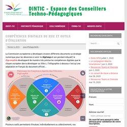 Compétences digitales du XXIe et outils d'évaluation – DINTIC – Espace des Conseillers Techno-Pédagogiques