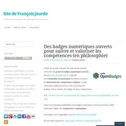 Des badges numériques ouverts pour suivre et valoriser les compétences (en philosophie)