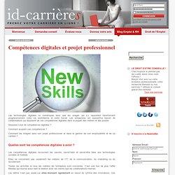 Compétences digitales et projet professionnel « id-carrieres Le Blog id-carrieres Le Blog