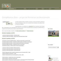 lignebois » Compétences Bois – projet de formation professionnelle