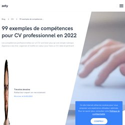 Quelles compétences mettre sur son CV + liste (90 exemples)