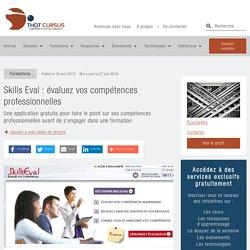 Skills Eval : évaluez vos compétences professionnelles - Thot Cursus