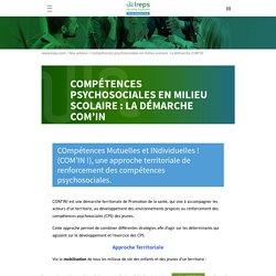 Compétences psychosociales en milieu scolaire : la démarche COM'IN - Ireps