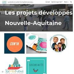 La boite à outils Compétences psychosociales - Les projets développés en région Nouvelle-Aquitaine