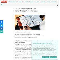 Les 10 compétences les plus recherchées par les employeurs