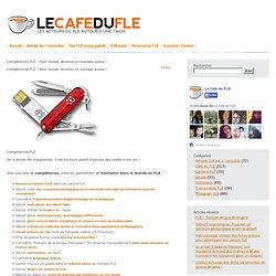 Compétences FLE : Pour réussir, devenez un couteau suisse !