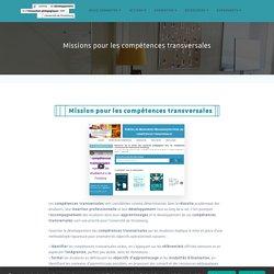 Missions pour les compétences transversales