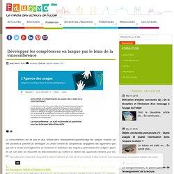 Développer les compétences en langue par le biais de la visioconférence