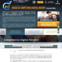 Competencia Digital Docente, definición y áreas y competencias