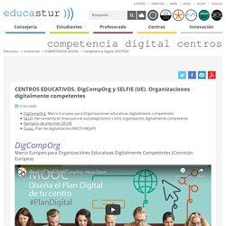 Competencia digital CENTROS