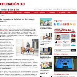 La competencia digital de los docentes, a examen