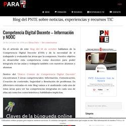 Competencia digital docente información