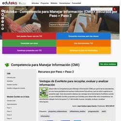 Competencia para Manejar Información (CMI) > Recursos por Paso > Paso 2