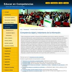 Competencia digital e informacional