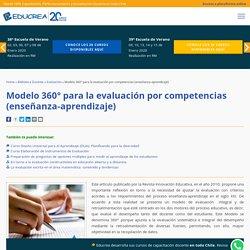 Modelo 360° para la evaluación por competencias (enseñanza-aprendizaje)
