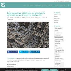 Competencias, objetivos, resultados de aprendizaje y criterios de evaluación - Raül Solbes i Monzó