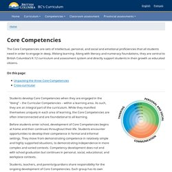 Building Student Success - BC's New Curriculum