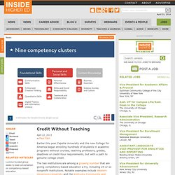 Competency-based education's newest form creates promise and questions
