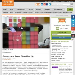 Competency-Based Education 2.0