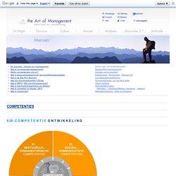 COMPETENTIES Competentiemanagement Competentiemodel Kennis Vaardigheden Eigenschappen