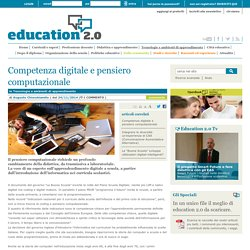 Competenza digitale e pensiero computazionale - 2014