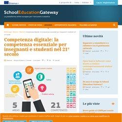 Competenza digitale: la competenza essenziale per insegnanti e studenti nel 21° secolo
