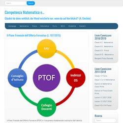 Il Piano Triennale dell'Offerta Formativa (L. 107/2015) - Competenza Matemati...