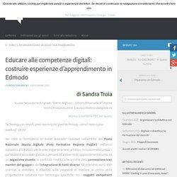 Educare alle competenze digitali: costruire esperienze d'apprendimento in Edmodo – BRICKS