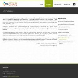 Competenze Chiave - Chi siamo