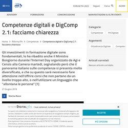 Competenze digitali e DigComp 2.1: facciamo chiarezza - FPA