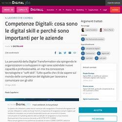 Competenze Digitali: cosa sono le digital skill e importanza per le aziende