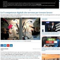 Le 5 competenze digitali che servono per trovare lavoro