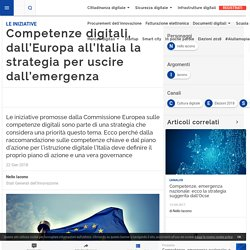 Competenze digitali, dall'Europa all'Italia la strategia per uscire dall'emergenza