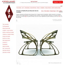 A' Design Award and Competition - Images of Butterfly by Eduardo Garcia Campos