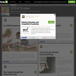 Robotics Education and Competition Foundation | STEM Studies