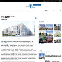 ACME Wins SAB Design Competition in Germany